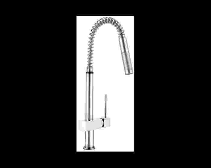Elkay Avado Single Hole Kitchen Faucet with Semi-professional Spout and Lever Handle Chrome