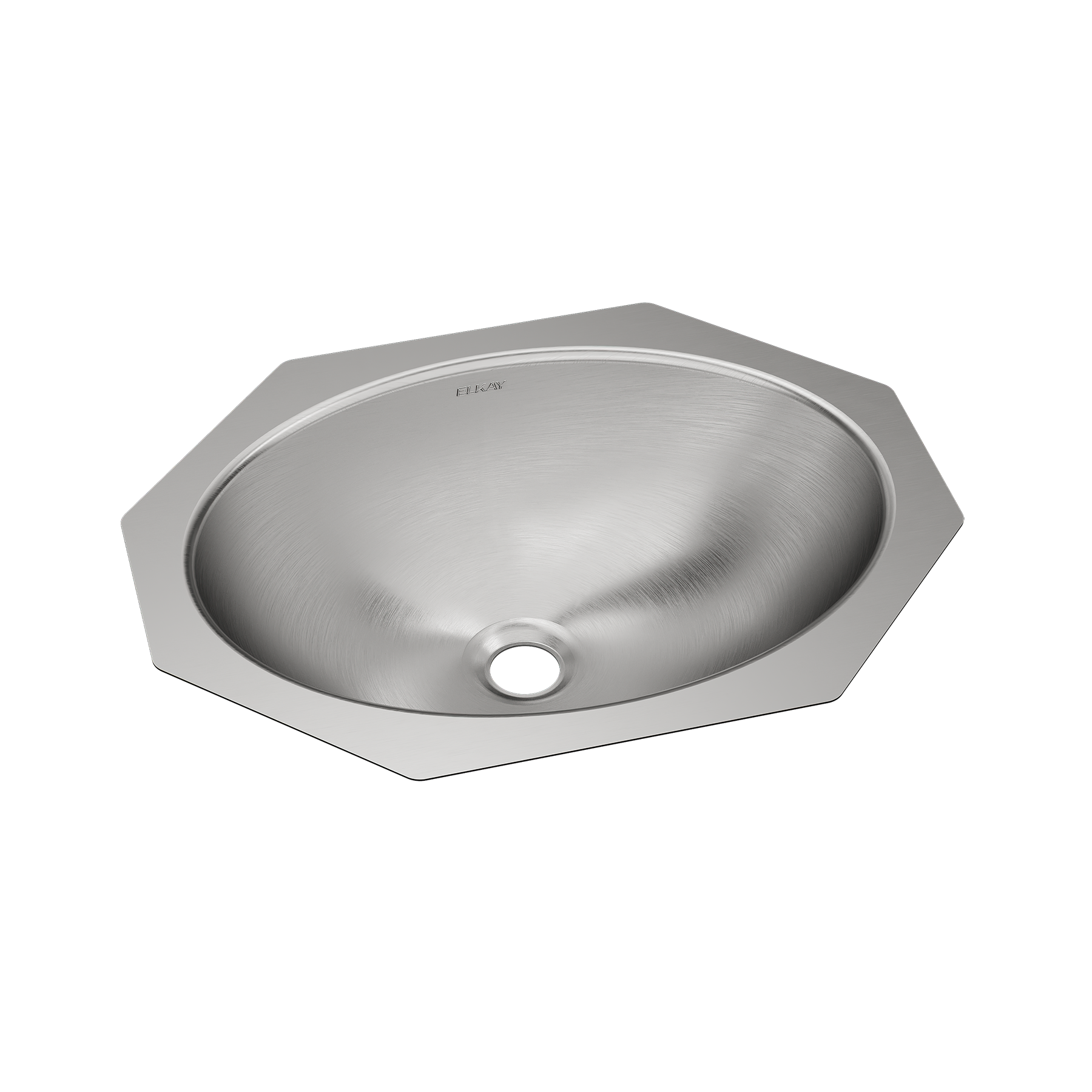 Elkay Asana Stainless Steel 18 X 14 X 6 Single Bowl Undermount Bathroom Sink