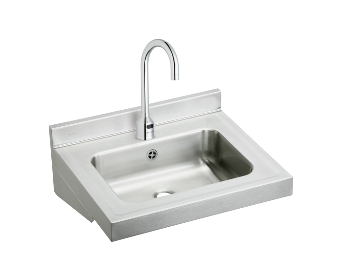 Wall Mounting H Mount Sink 19-1//2 in