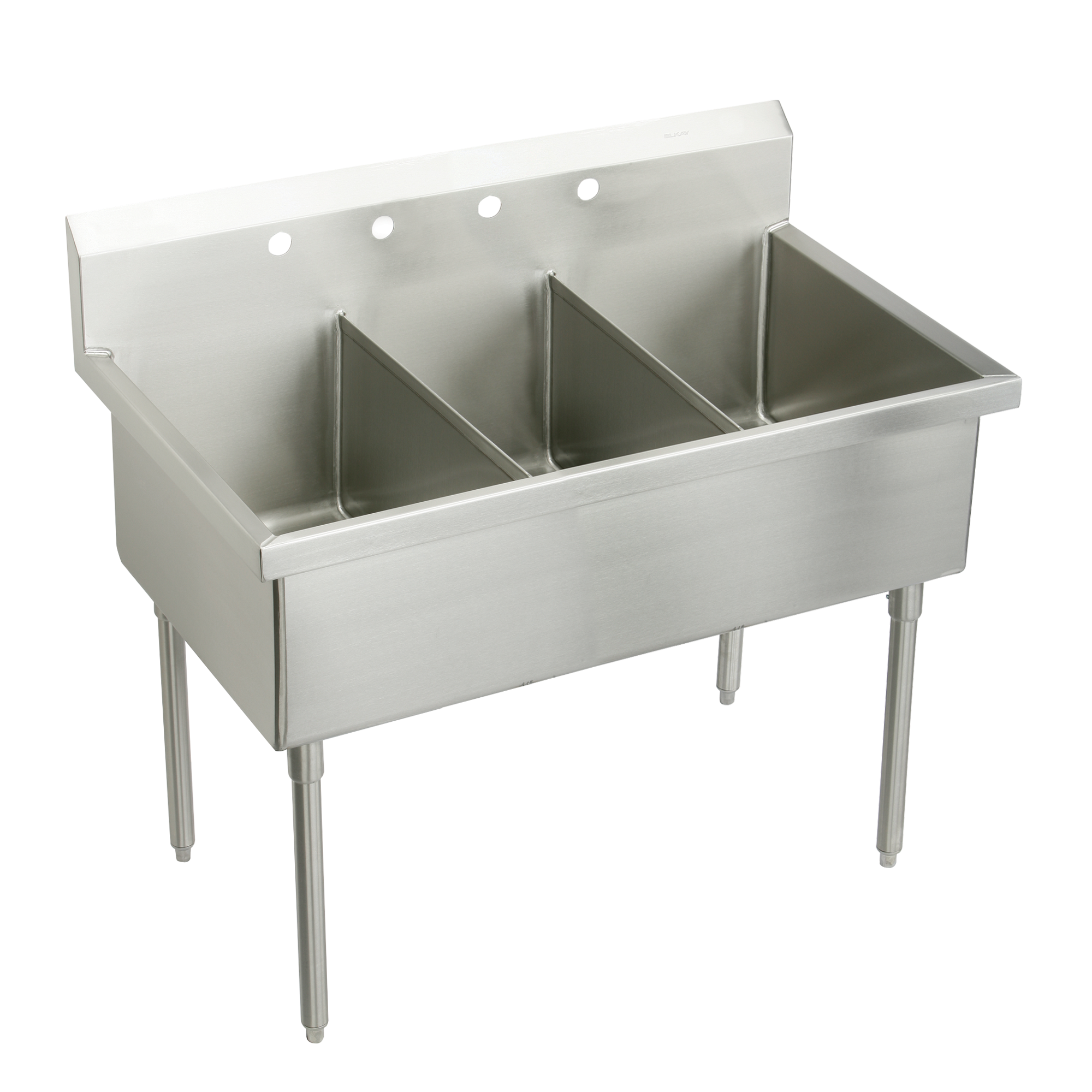Picture of: Business Industrial Sink Drain Parts Accessories Drainboard 2 Compartment Nsf 48 Stainless Steel Commercial Kitchen Prep Sink Studio In Fine Fr