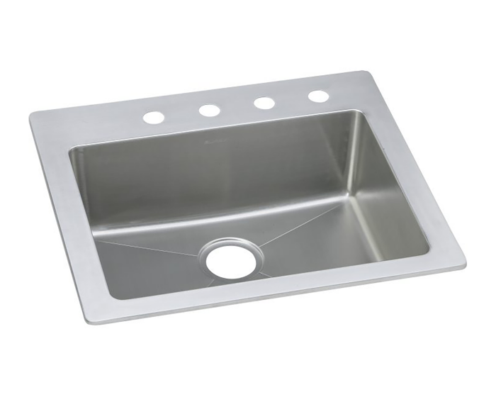 Elkay Stainless Steel 25 X 22 X 8 Single Bowl Dual Mount Sink