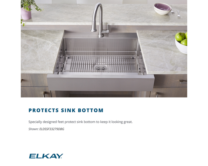 Elkay Stainless Steel 28 1 4 X 15 1 4 X 1 1 4 Bottom Grid